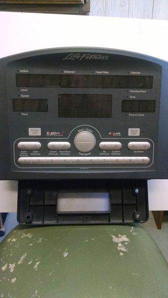 Life Fitness 91Ti Treadmill console used