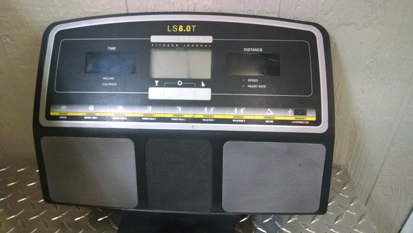 Livestrong Ls8 0t 2011 Tm641 Treadmill Console Used
