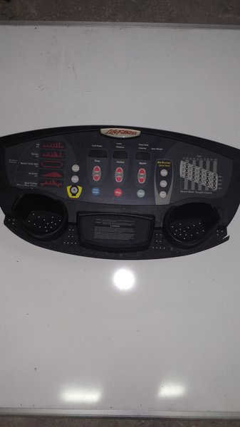 Life Fitness T3 & T5 Treadmill Console Ref# 10351 -Used