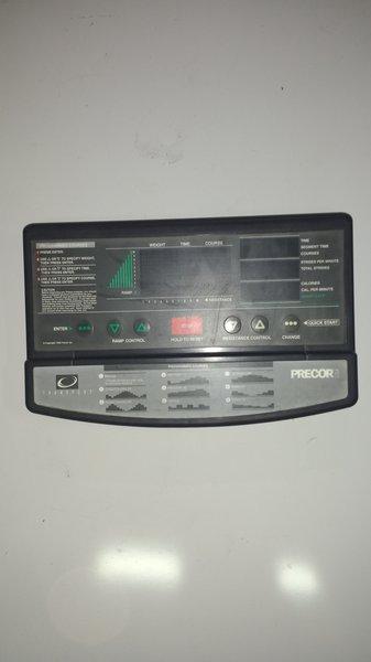 Precor 9.2x Console/Circuit Board Ref#10469 -used