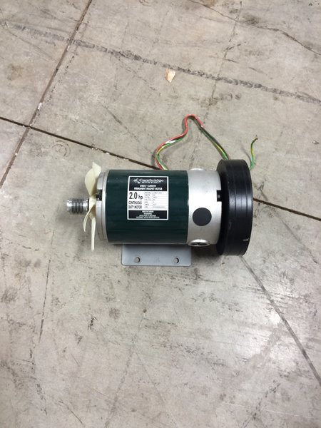 OK- Vision Drive Motor 2HP Ref# 90009- Used