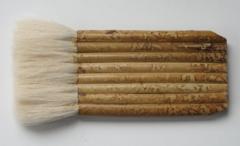 Wash Brush Bamboo Hake