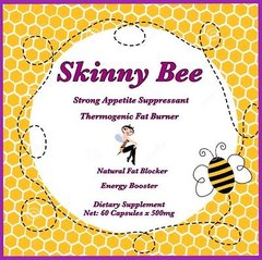 Skinny Bee Pollen Weight Loss Capsules. A Slimming Bee Pollen Diet Capsule That Works Fast. This All-Natural Weight Loss Pill is Formulated With A Strong Appetite Suppressant.
