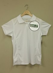 Golf Shirt-White Womens