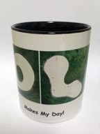 GOLF  Makes My Day Mug