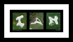 3 ITS-GOLF Print Framed
