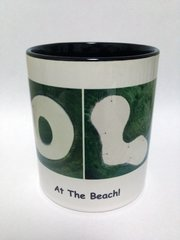 GOLF At The Beach Mug