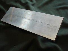 """(AF61/.500X4.00-12)  Aluminum 6061-T6511  1/2""""  x  4""""  x  12"""""""