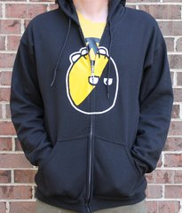 Anarchyball Zip Up Hoodie