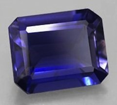 Octagon Faceted AAA Lab Created Blue Sapphire #34 (5x3mm to 12x10mm)
