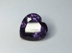 HEART FACETED AAA LAB CREATED ALEXANDRITE (3x3-16x16mm)