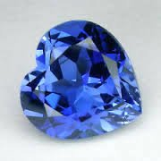 HEART FACETED AAA RATED BRIGHT SAPPHIRE BLUE CUBIC ZIRCONIA (3x3mm - 15x15mm)