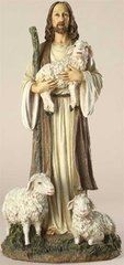 12 Inch High Josephs Studio Good Shepherd Figurine 45687