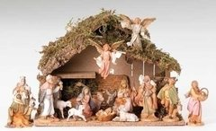5 Inch Fontanini 16pc Italian Nativity Set 54492