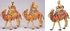 5 Inch Fontanini Three Kings on Camels 71514