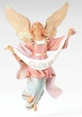 12 Inch Scale Fontanini Hanging Gloria Angel 72917