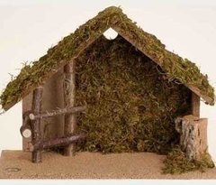 5 inch Fontanini Italian Nativity Stable Only 50564