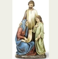 10.25 Inch High Josephs Studio Joseph, Mary and boy Jesus 41213