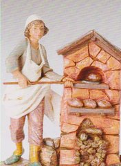 12 Inch Fontanini Darius the Baker Figurine 52908