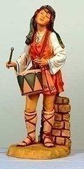 27 Inch Fontanini Jareth the Drummer Boy 53101