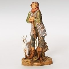 7.5 inch Fontanini Peter Shepherd with Sheep 52875
