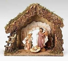 7.5 Inch Fontanini Starter Nativity Set 54850