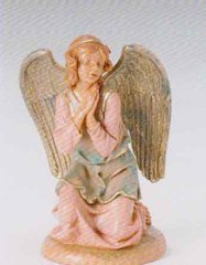 12 Inch Scale Fontanini Kneeling Angel 52918
