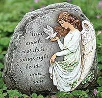 8 Inch Josephs Studio Irish Angel Stone with a Message 62407