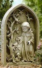10 Inches High Josephs Studio St Francis Garden Stone 47447