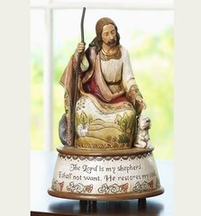 8 Inch High Josephs Studio Musical Good Shepherd 41424
