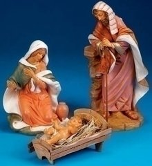 18 Inch Fontanini 3 Pc Holy Family Set 51710