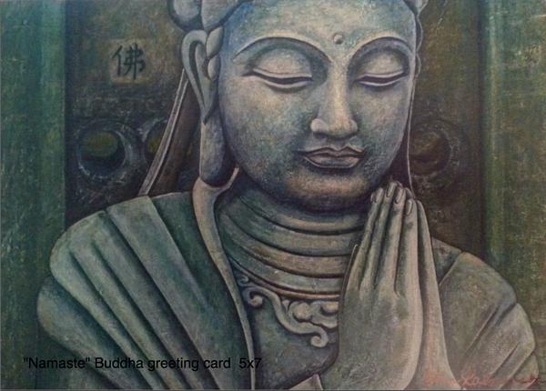 Fine art greeting cards buddha and landscape art for sale individual greeting cards 5x7 buddha art landscape art m4hsunfo