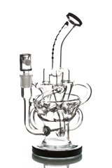 GG19 - 11'' Triple Cyclone Recycler With Inline Perc