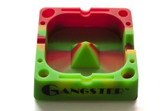 "AT03 - Gangster Tap Tray, 5"" Silicone Ashtray"