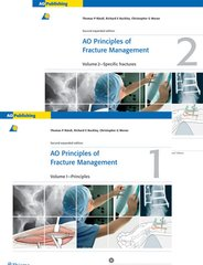 AO Principles of Fracture Management 2nd Edition 2007 (2 Vol. set) By Ruedi / Buckley / Moran