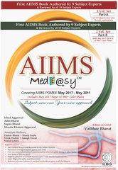 AIIMS MedEasy (Part A & B) 2017 by Vaibhav Bharat