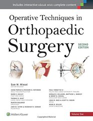 Operative Techniques in Orthopaedic Surgery 4 volume set, 2nd Edition 2015 (Hardcover) by Samuel Wiesel