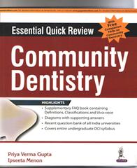 Community Dentistry by Priya Verma Gupta & Ipseeta Menon