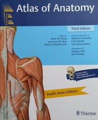 Atlas of Anatomy 3rd edition 2017 by Anne M. Gilroy