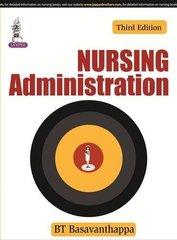 Nursing Administration Paperback – 20 May 2014 by BT Basavanthappa