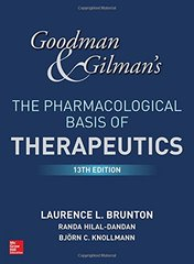 Goodman and Gilman's The Pharmacological Basis of Therapeutics 13th Edition 2018