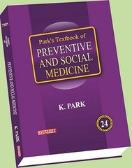Park's Textbook of PREVENTIVE AND SOCIAL MEDICINE 24th Edition 2017 by K. Park