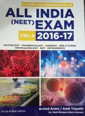 All India (NEET) Exam 2016-17 Volume 2 by Arvind Arora / Amit Tripathi / Dr. Punit Bhojani