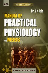 Manual of Practical Physiology for MBBS 5th Edition 2016 by Ak Jain