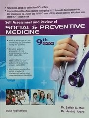 Social & Preventive Medicine 9th Edition 2017 by Satish S Mali, Arvind Arora