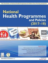 National Health Programmes and Policies (2017-18) by Samta Soni