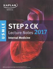 KAPLAN USMLE STEP 2CK LECTURE NOTES 2017 (5 VOLUMES)