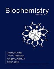 Biochemistry 8th Edition 2015 (Hardcover) By Berg, Stryer
