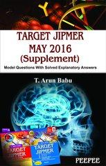 TARGET JIPMER MAY 2016 (Supplement) by Arun Babu