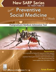 Preventive Social Medicine In 2 weeks (New SARP Series for NEET / NBE /AI) By Arun Kumar